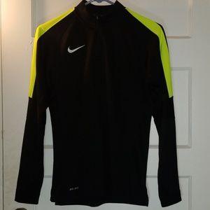 Nike Dri-FIT half-zip women's sweater size small